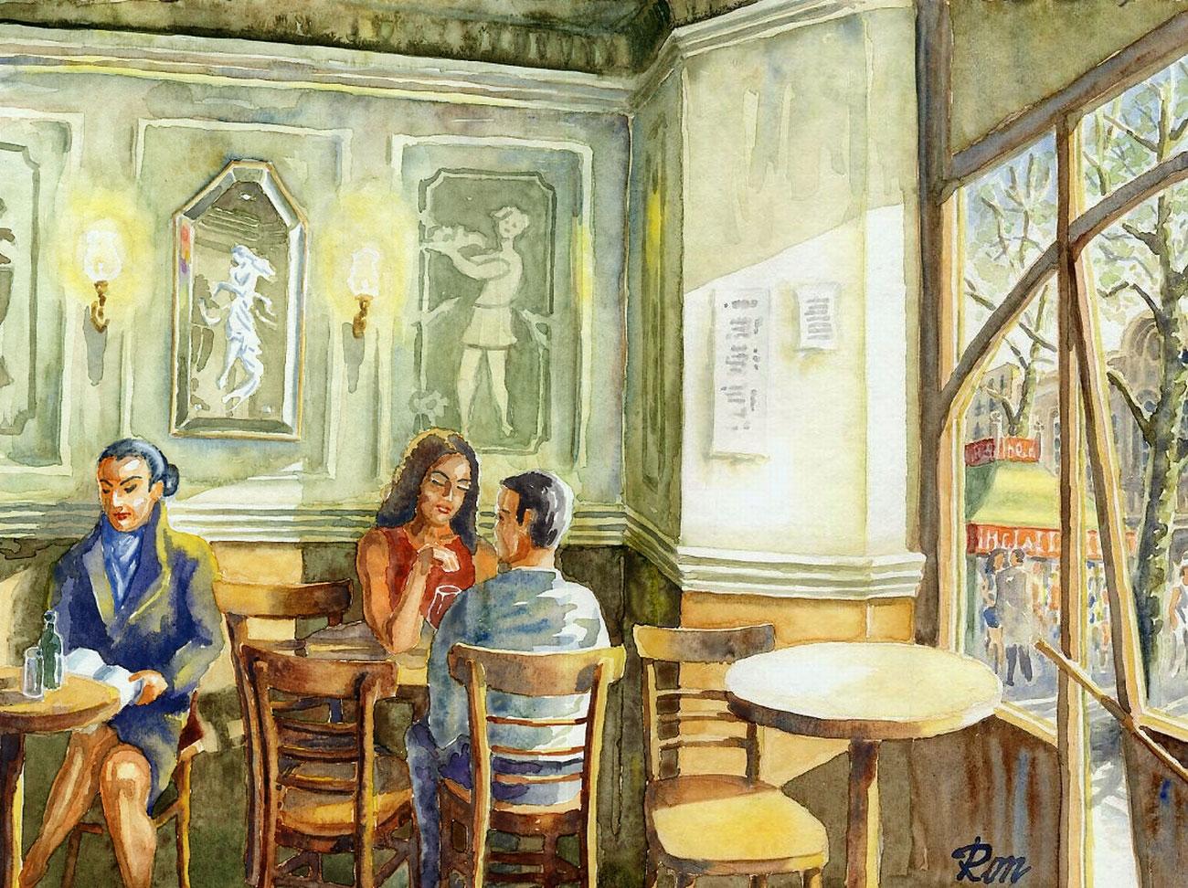 Fotografias Y Pinturas Cafe De L 39 Opera Barcelona